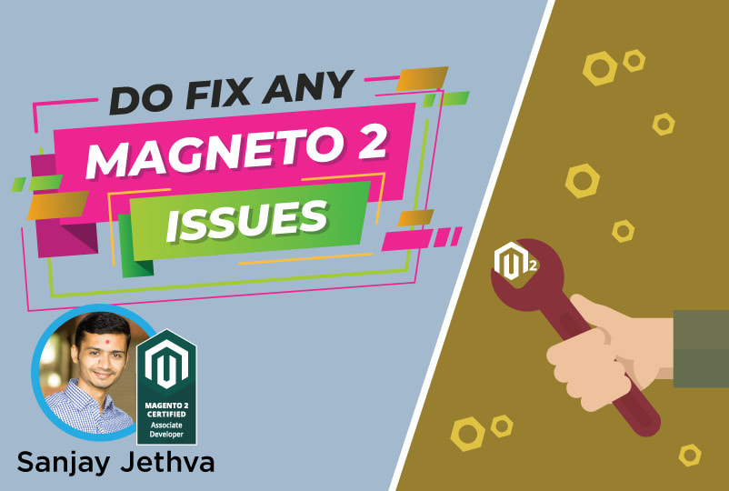 I will fix any magento 2 issue