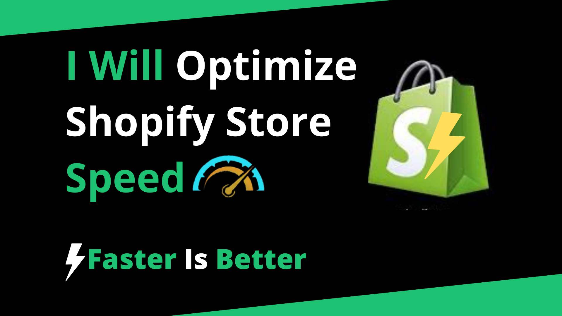 I will do shopify speed optimization and increase the speed of your shopify Store