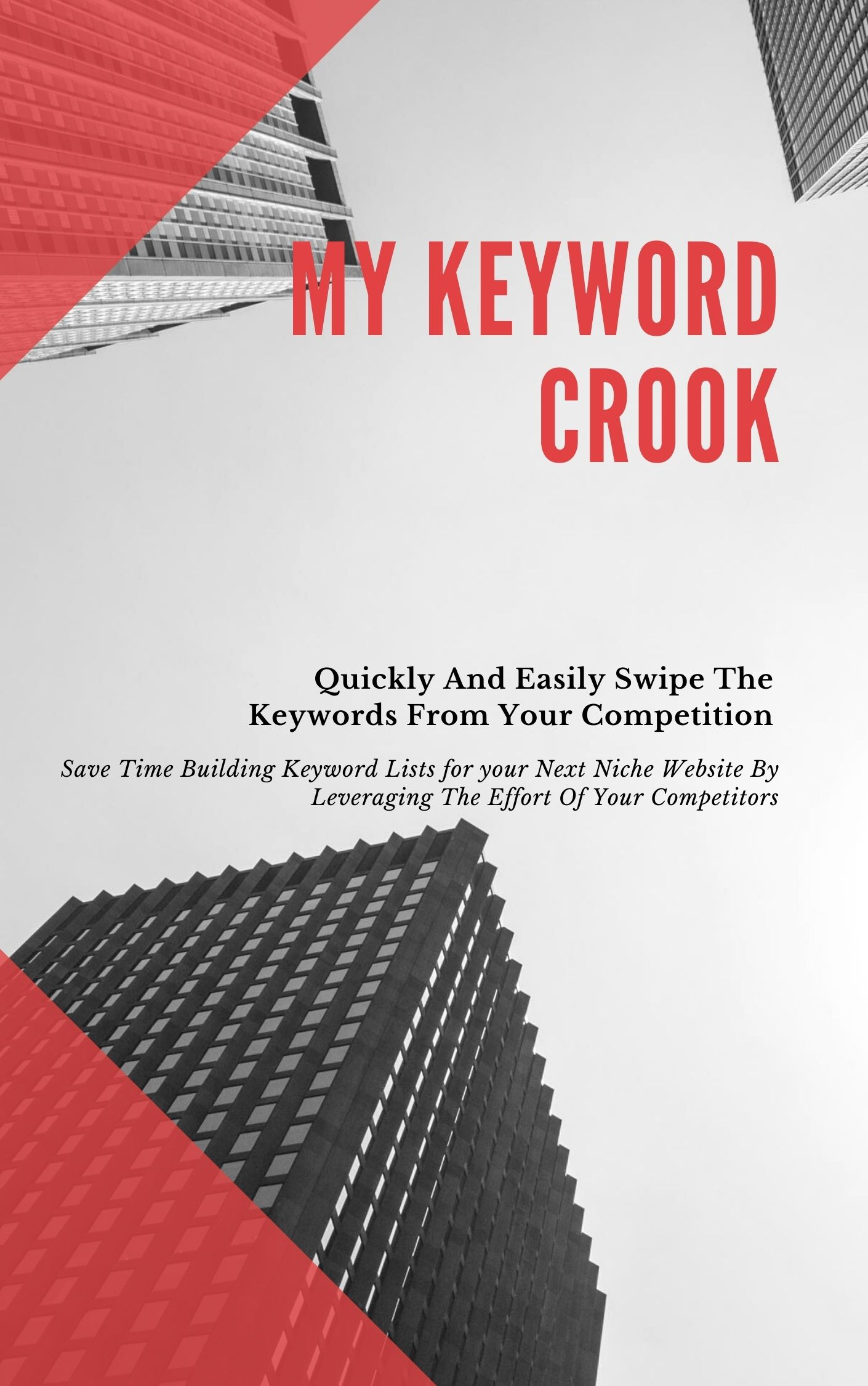 My Keyword Crook- A Software Program that instantly draws in thousands of keyword phrases