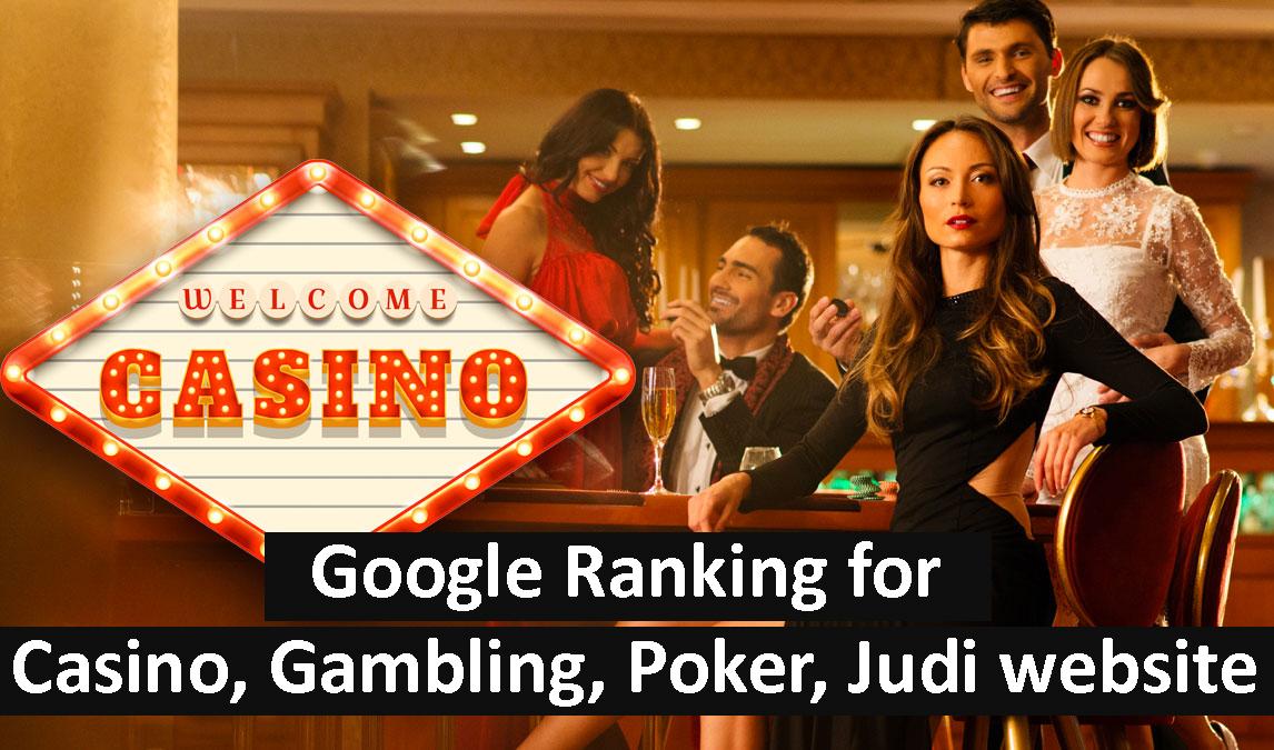 Google Ranking for Casino,  Gambling,  Poker,  Judi website by 1000 High DA PBN backlinks