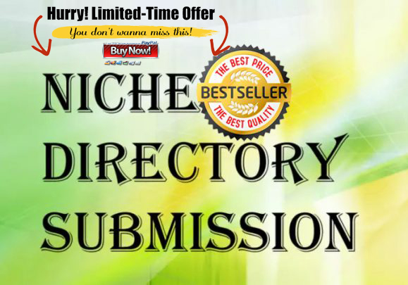 I provide you 50 backlinks from niche targeted directories