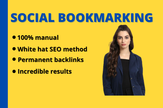 I will do 300 Social bookmarking to create dofollow SEO backlinks