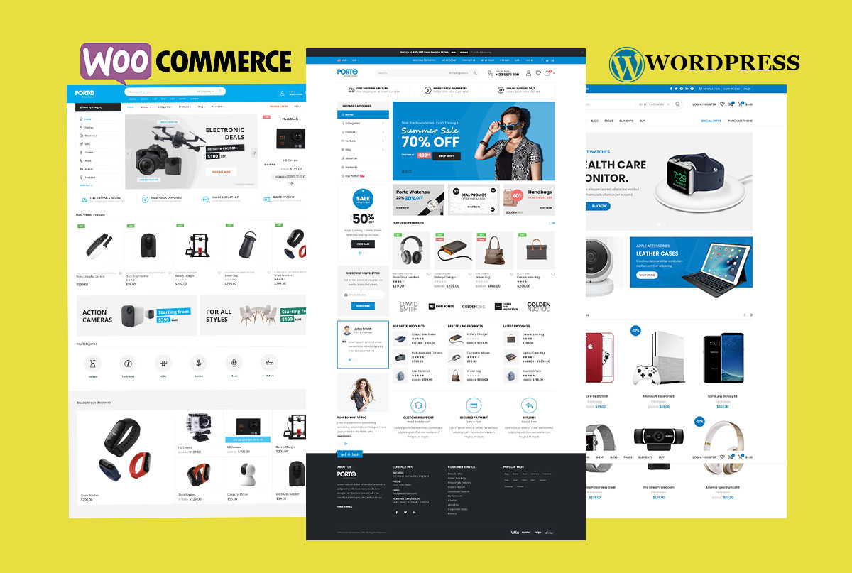 I will do woocommerce install,  demo import and customization your ecommerce/store