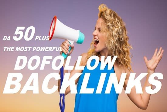 I will 20 high da dofollow backlinks SEO link building service