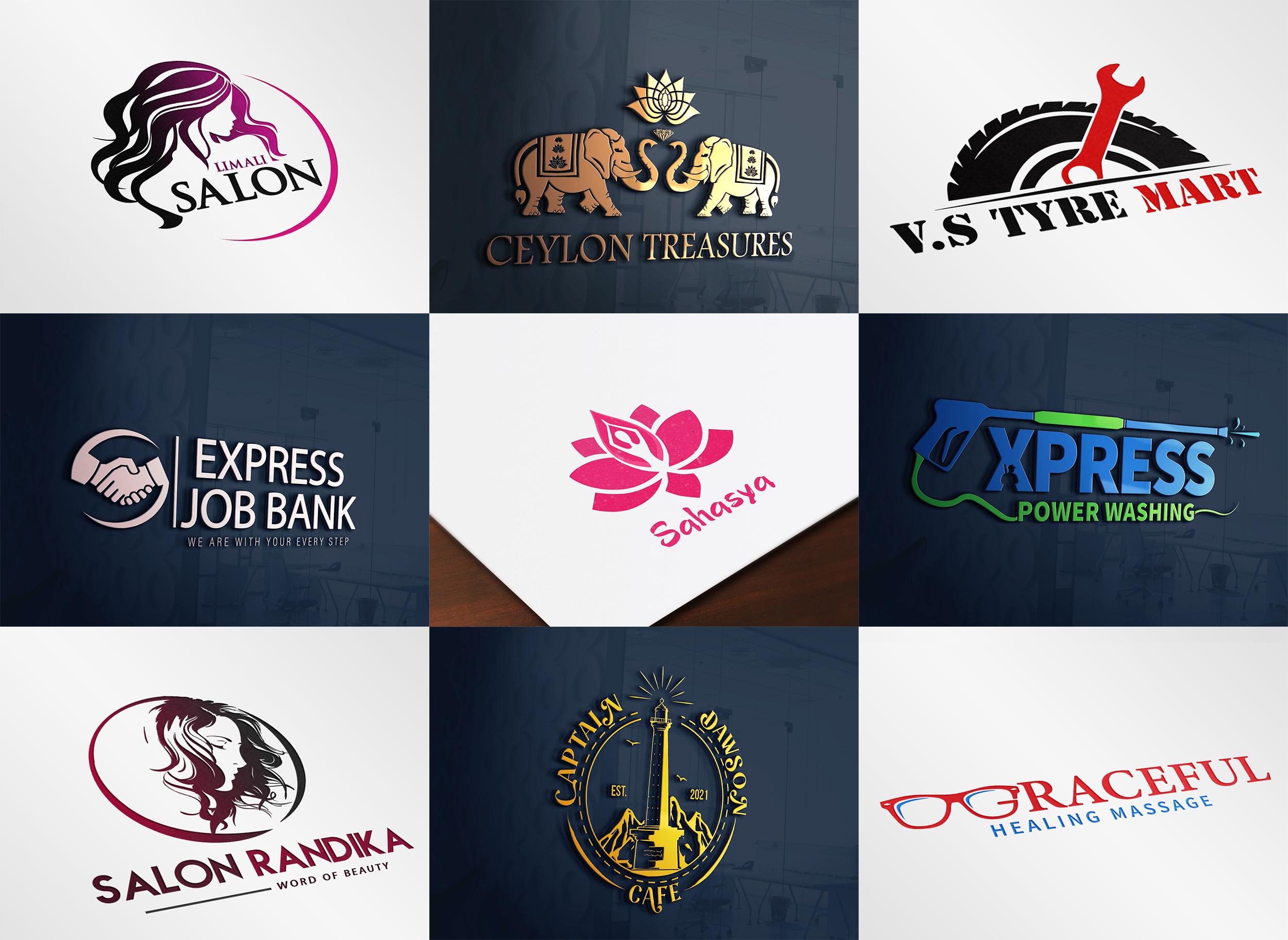 I will Design Modern Unique Logo Design for Your Company,  Business and more