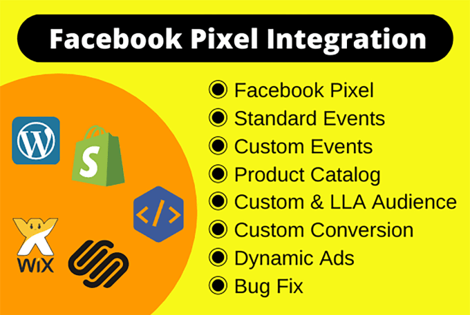 I will fix or setup facebook pixel catalog,  custom audience fb