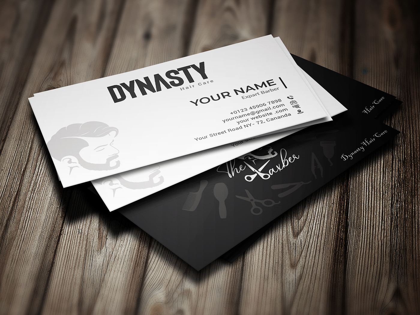 I will design creative unique business cards for 1 day