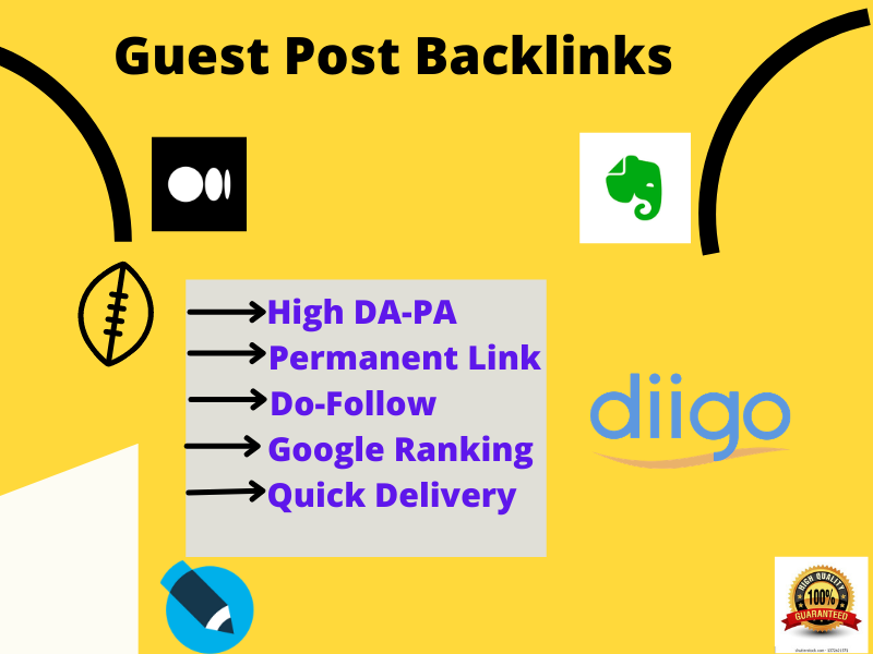 I will do 1 Guest Post on high DA PA real website
