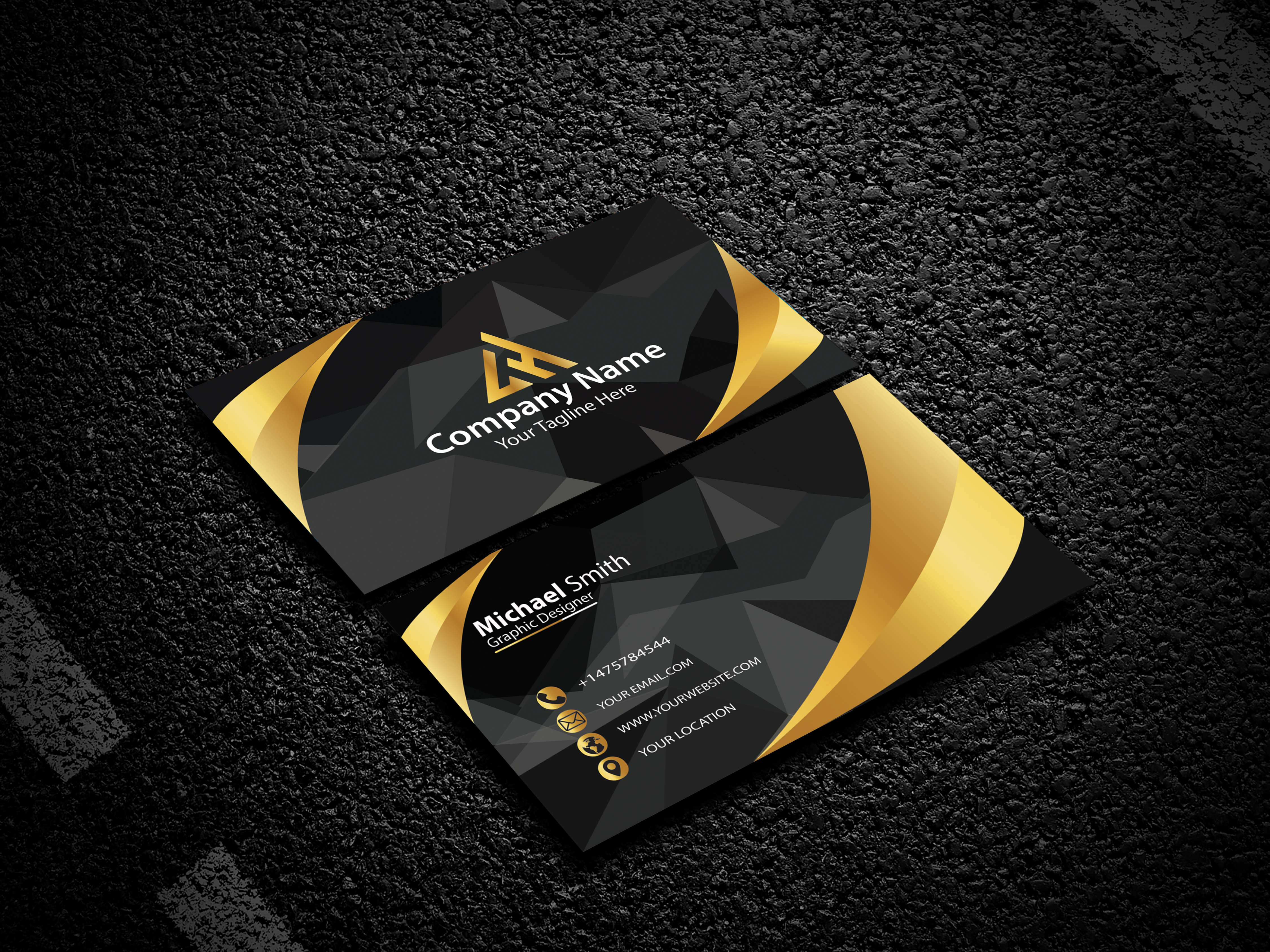 I am expert in Luxury Business card design