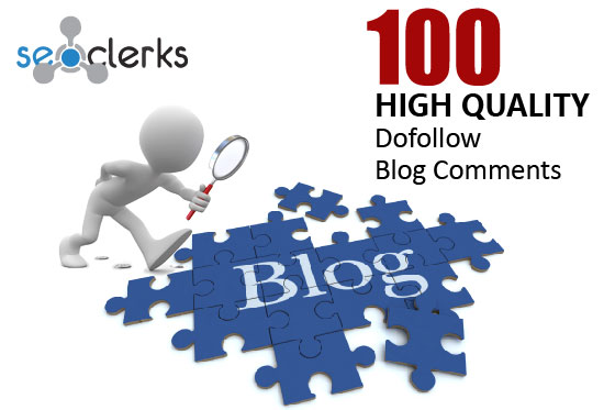 I will provide 100 niche relevant Blog Comments and High Authority Backlinks