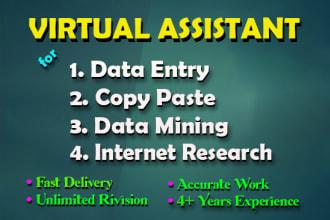 virtual assistant for copy paste.