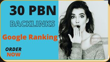 I will create pbn 30+ high quality contextual dofollow seo Backlinks service