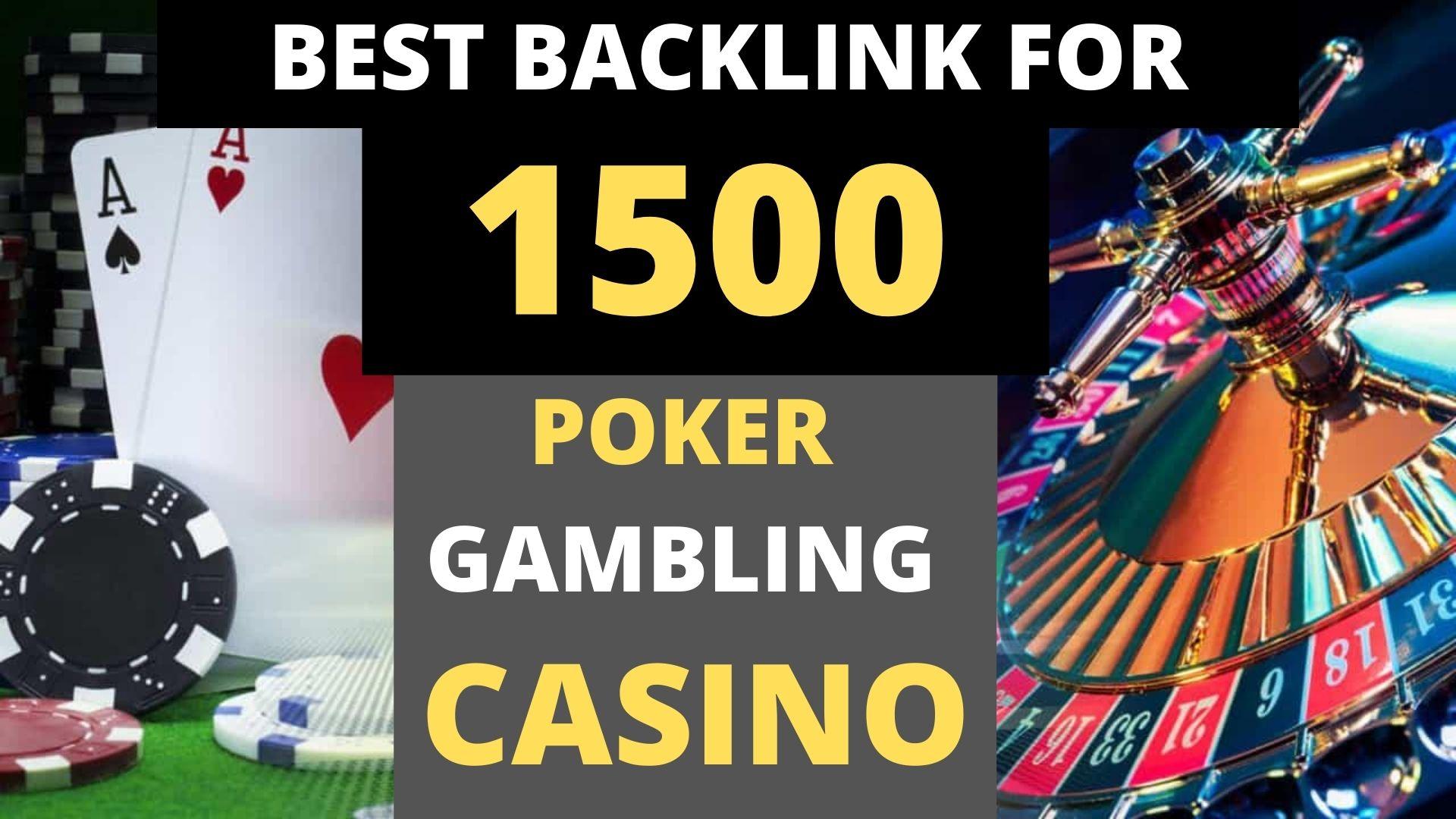 I Will Do 1500+PBN Indonesian/Thailand Keywords Casino/Poker PBN DR 30 to 70 Highly Backlinks