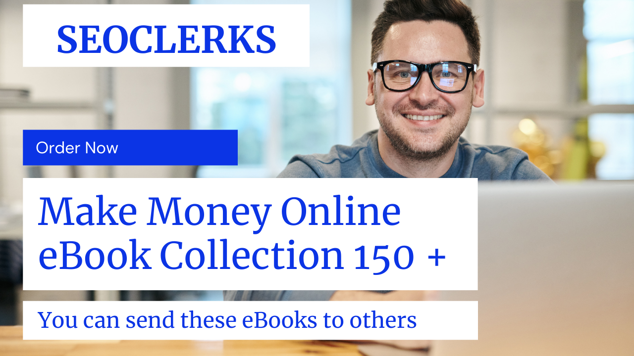 send you the 150 make money online and businesses ebooks