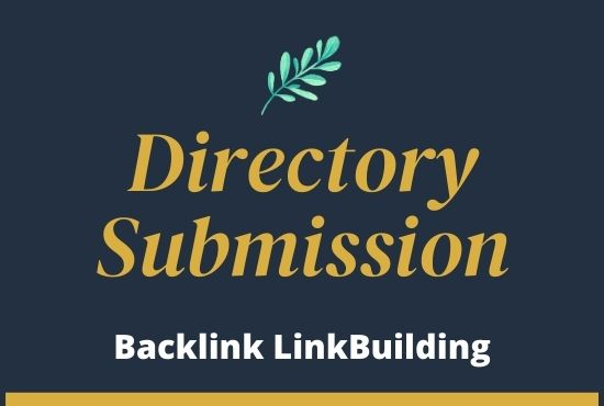 I will submit physically 50 registry accommodation ground-breaking backlinks