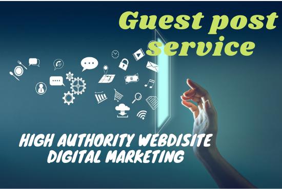I will do high da digital marketing guest post