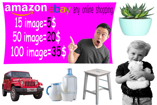 I will do background removal, photo resize, retouching and photo editing