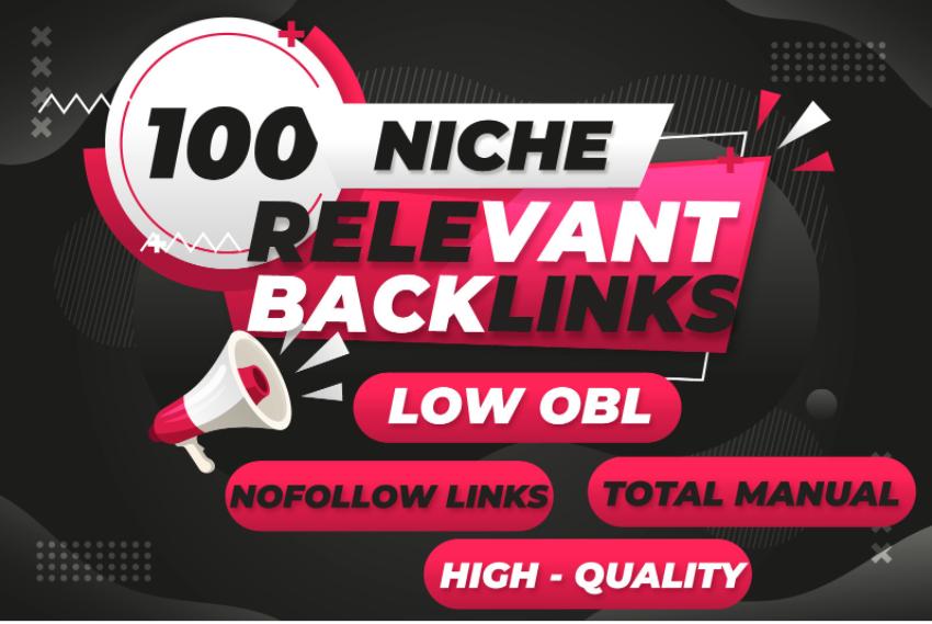 Providing 100 NIche relevant Manually done Nofollow backlinks