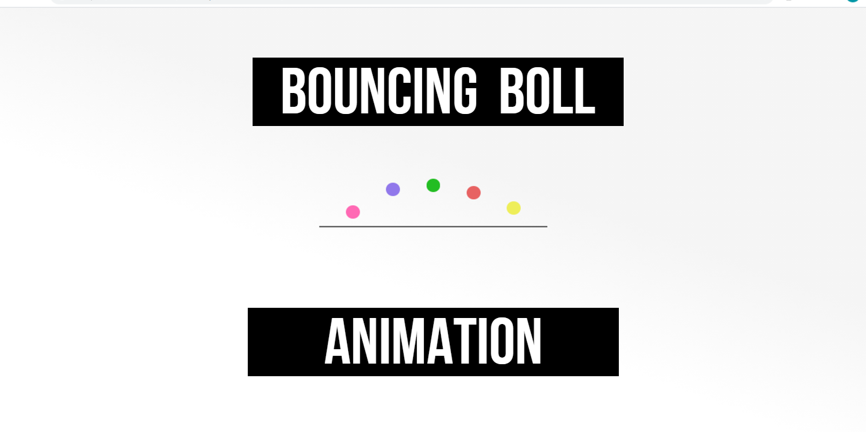 ball animated css effect animation