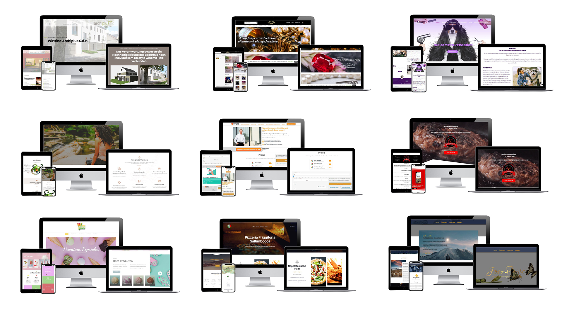 I design professional responsive Websites,  Blogs,  Shops,  Marketplaces