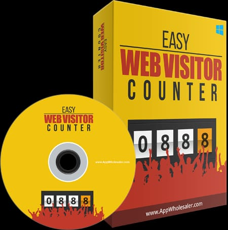 Easy web visitor counter software
