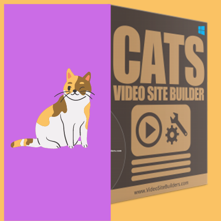 Cats Video Site Builder Software