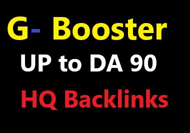 100 high quality content backlinks up to DA90