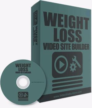 Weight loss video site builder software