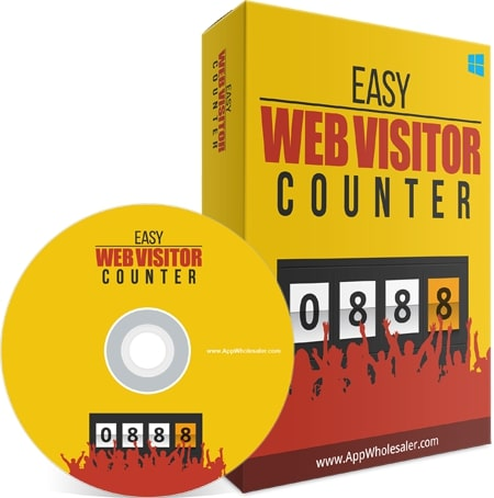 Easy web visitor counter viral