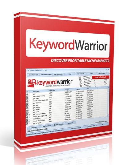 Keyword Warrior software for windows 7 or higher