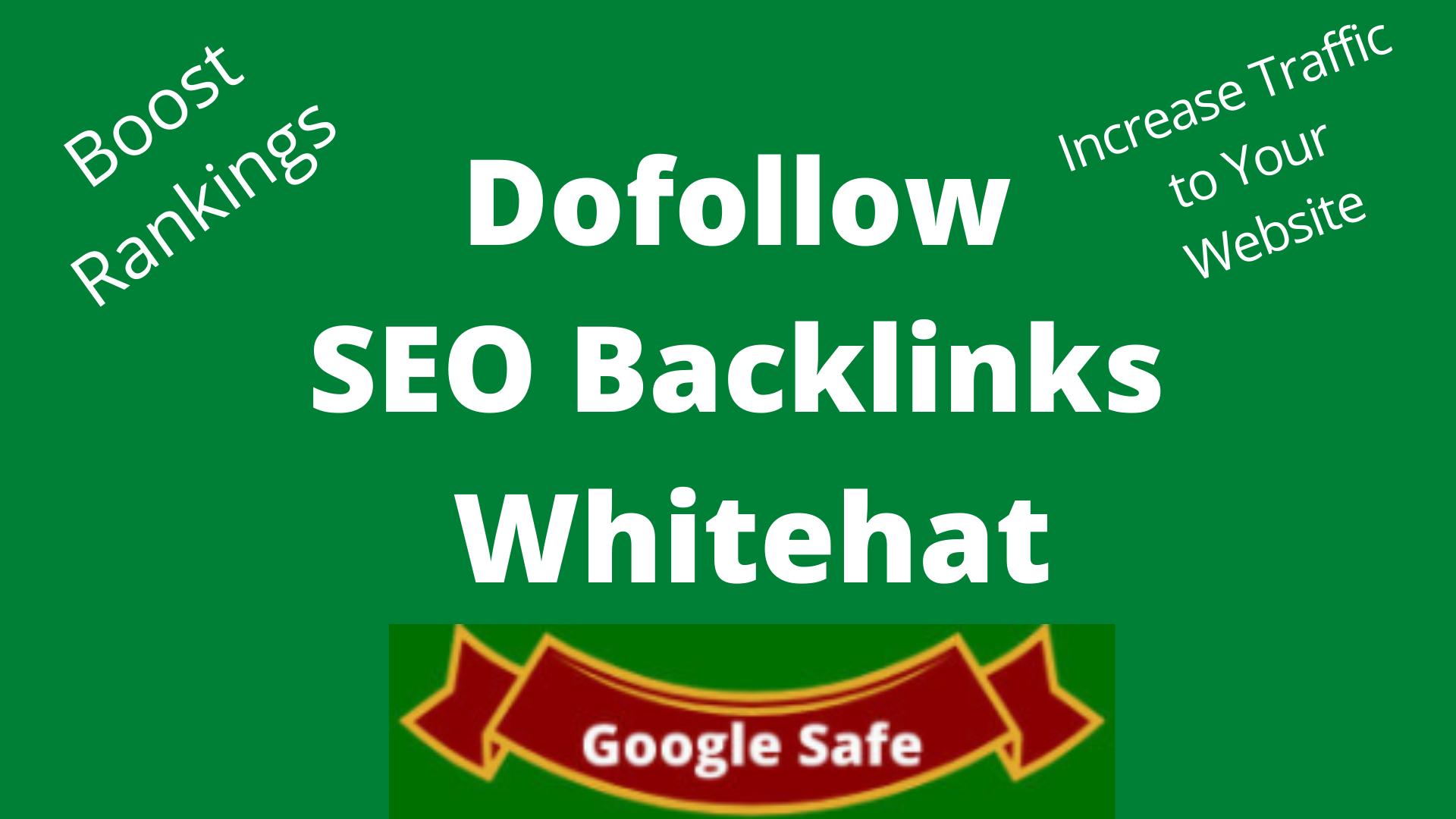 I create High Quality Dofollow SEO Backlinks for Google Top Ranking