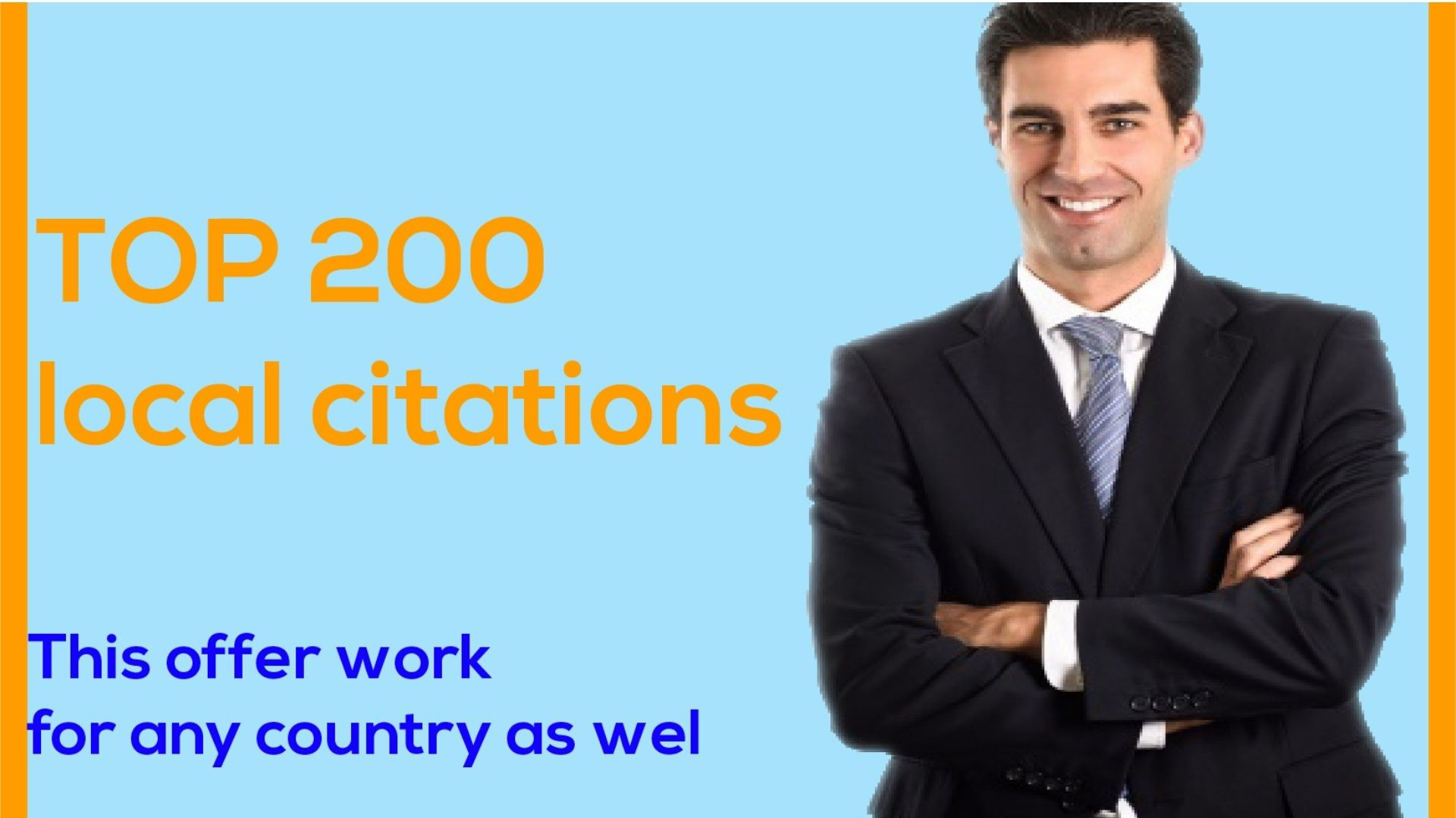 I will do 200 Best local Citations for your Business