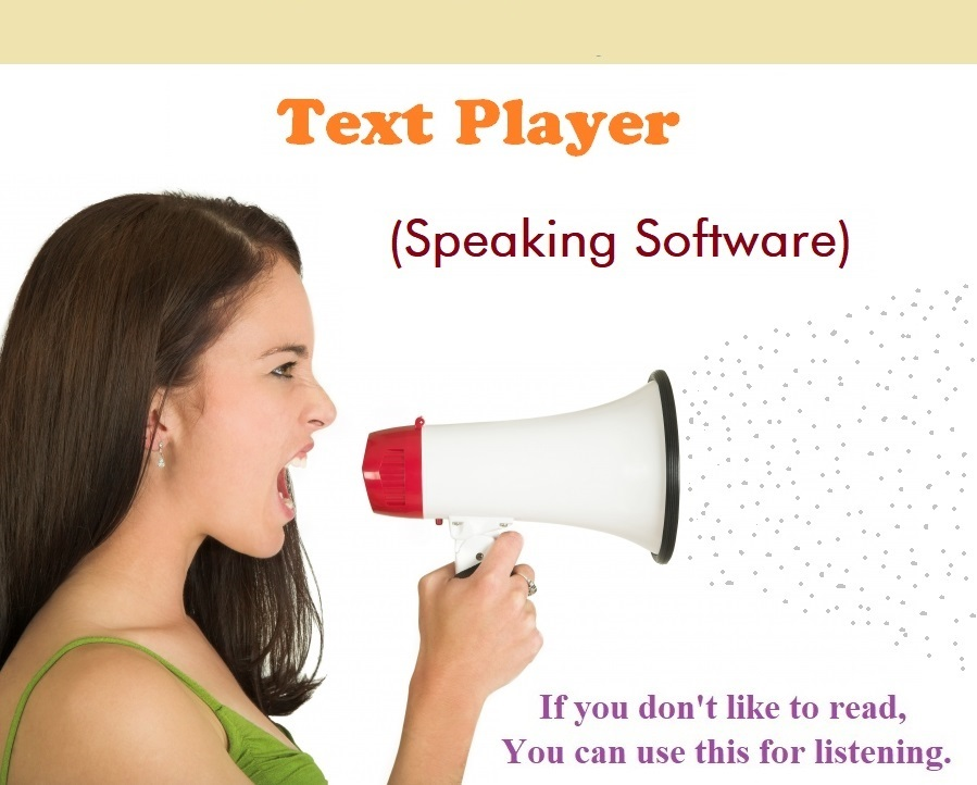 Text Player Speaking Software developed by Pasansoft