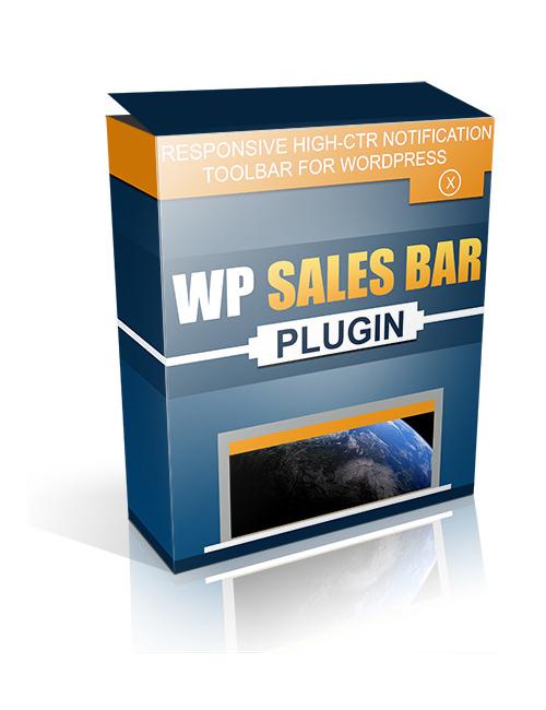 WP Sales Bar Plugin software Seller Marketing