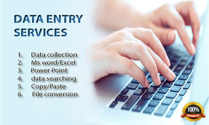 I will be your Data entry virtual assistant