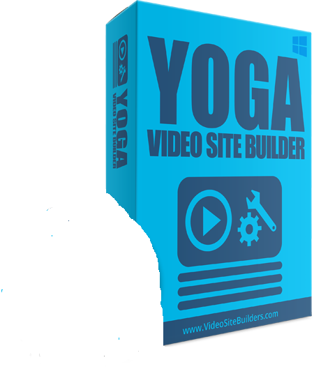 Yoga site builder for easy to create yoga videos for beginners