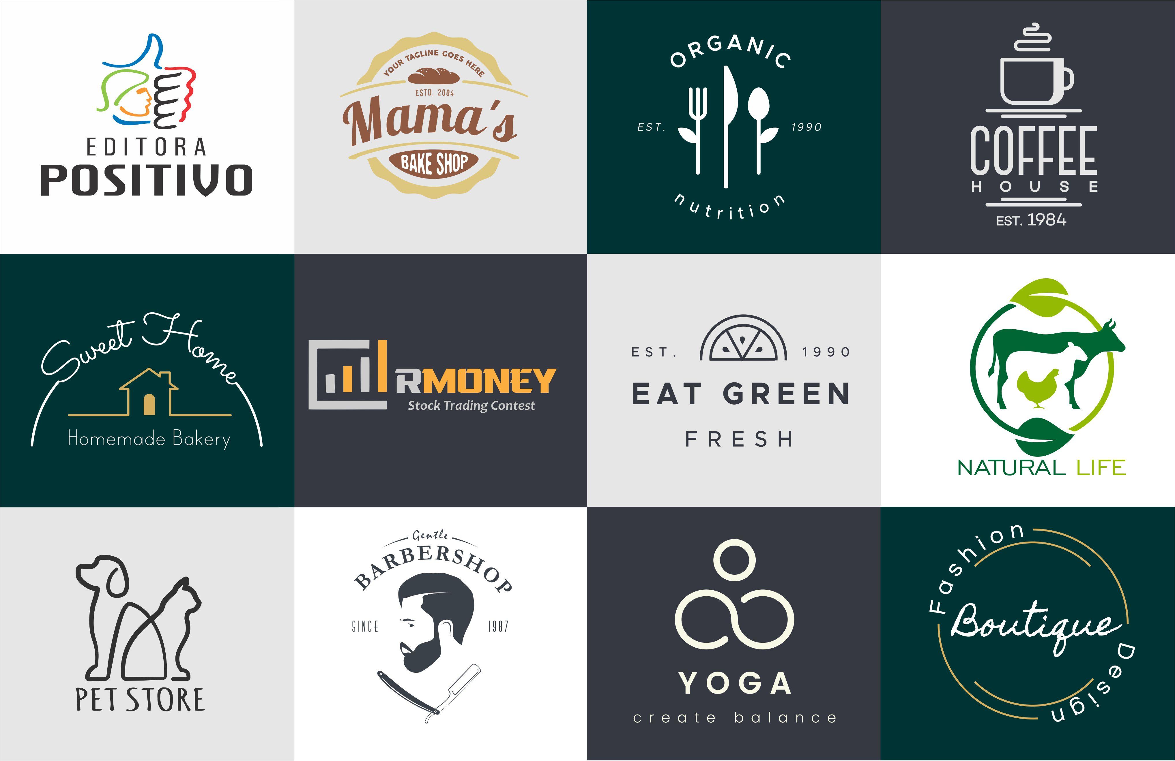 I will do creative minimalist Professional logo design