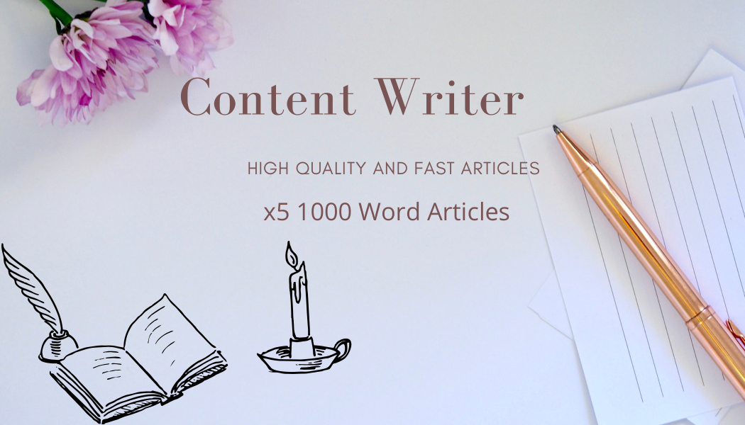 x5 1000 word articles with proofreading and punctuation check