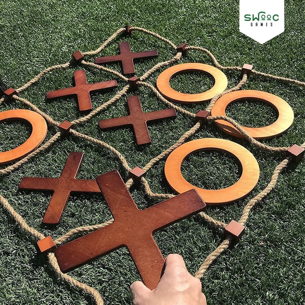 I will give you simple funny tic tac toe