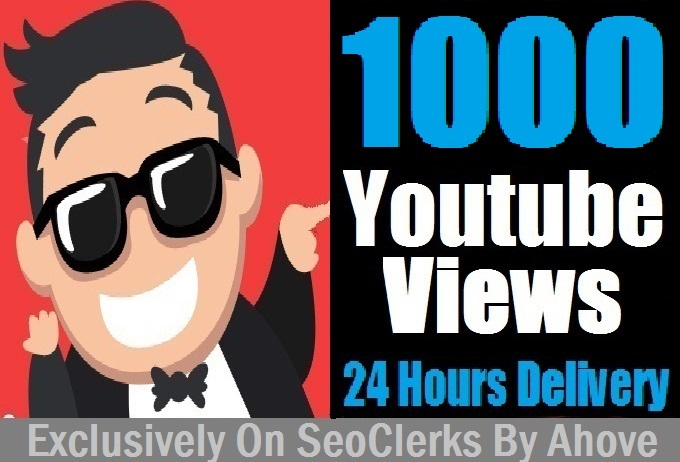 Start Instant 1000 YouTube Views In Your Video