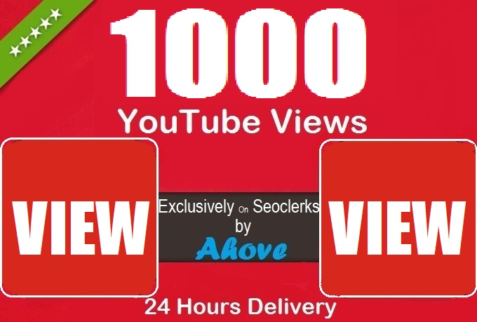Get Instant Video Promotion With 1000 Views