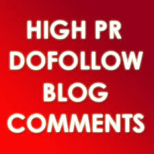 Give you 100 DOFOLLW Blog Comments