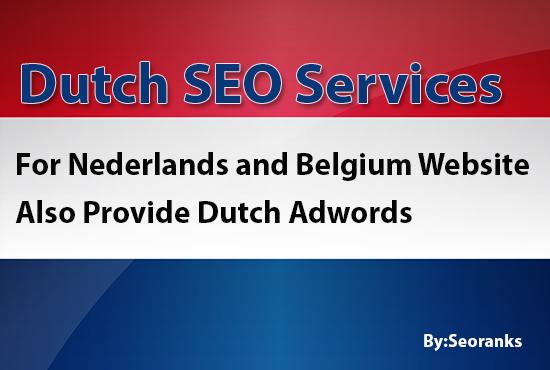 Increase your Dutch SERP Ranking
