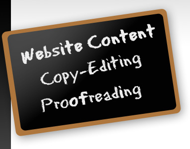 write web content for any website