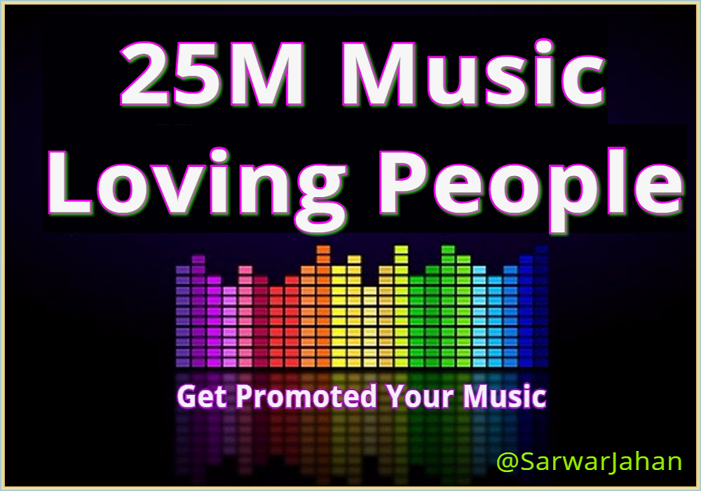 I will Make Awesome your Music and get Promoted