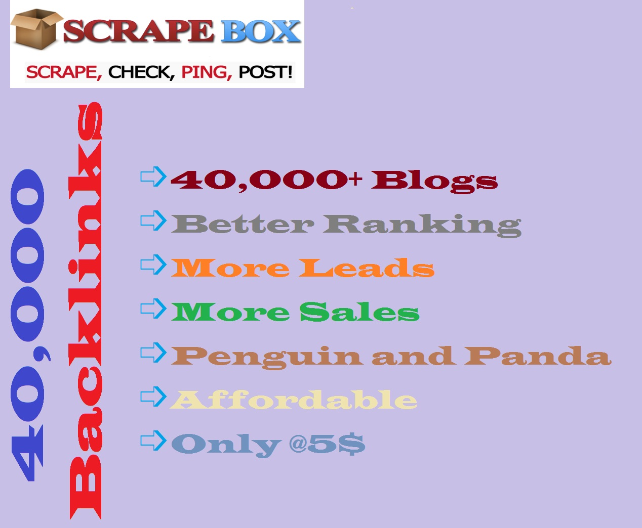 Supply 40,000 Blog comments backlinks for your website