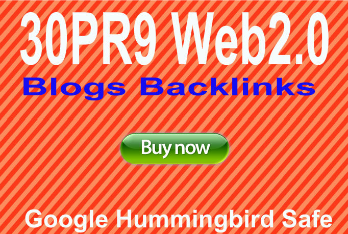 Provide 30 Do follow PR9 web2 Blogs from unique 30PR9 Authority websites Best for Seo