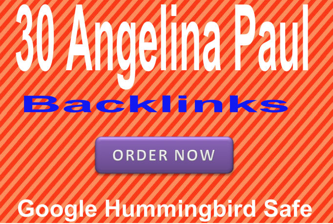 Provide 30 Do follow PR9 Angelina Paul Backlinks  Best for Seo