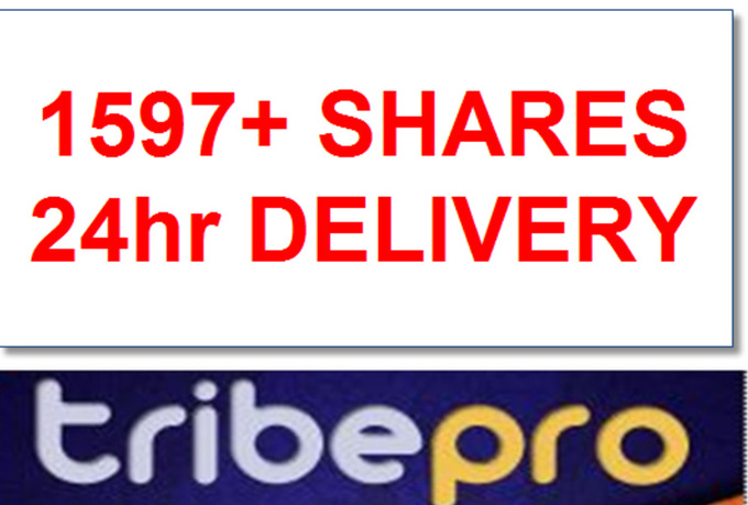 share ONE Url On Tribepro Your Link Will Be Shared At least 601 times