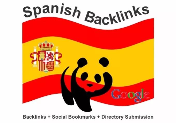 I will create 150 backlinks on spanish ES blog domains